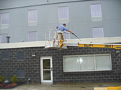 Click here for a larger view of this commercial pressure washing image